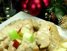 Free Christmas Dinner Stock Photography - 1381042
