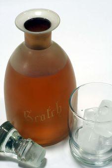 Free Scotch On The Rocks Stock Photos - 1381273
