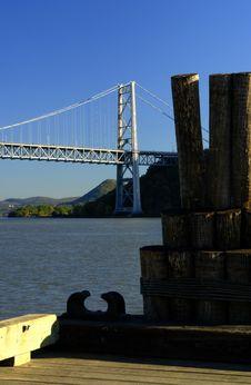 Free Bear Mountain Bridge In Hudson Valley, NY Royalty Free Stock Image - 1381326