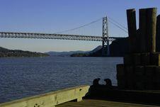 Free Bear Mountain Bridge In Hudson Valley, NY Royalty Free Stock Photos - 1381328