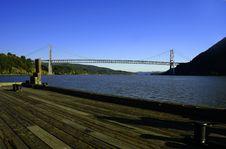 Free Bear Mountain Bridge In Hudson Valley, NY Royalty Free Stock Image - 1381346