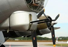 Free B17 Ww2 Bomber Stock Image - 1381361