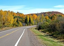 Free Road Through Autumn Royalty Free Stock Photography - 1381807