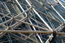 Free Geodesic Structure Of Building Stock Image - 1381971