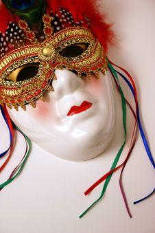 Free Big Colorful Mask Royalty Free Stock Photo - 1382215