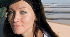 Free Spider Woman -1 Stock Image - 1382521