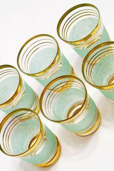 Free Set Of Liqueur Glasses Stock Images - 1383084