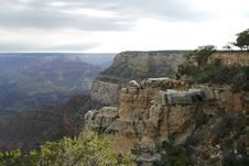 Free Grand Morning Canyon Royalty Free Stock Image - 1384156
