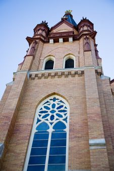 Free Bell Tower Of A Small Town Church Stock Photos - 1384713