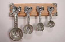 Measuring Spoons 2 Stock Photos