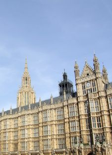 Free Houses Of Parliament 2 Royalty Free Stock Image - 1385756