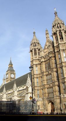 Free Houses Of Parliament 3 Stock Image - 1385781