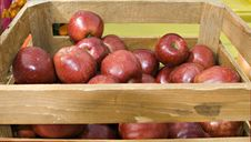 Free Apple Crate Stock Photography - 1385932