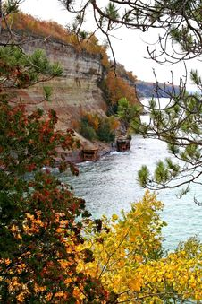 Free Pictured Rocks Royalty Free Stock Photos - 1385998