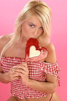 Free Blond Girl Royalty Free Stock Image - 1386066