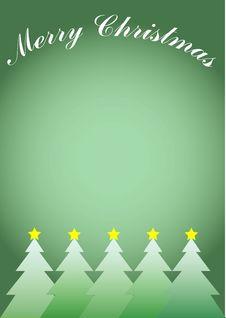 Free Christmas Trees Royalty Free Stock Photo - 1387095