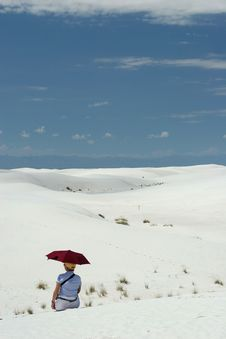 Free White Sand Dunes Royalty Free Stock Photography - 1389177