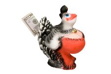 Free Hen-money Box Royalty Free Stock Images - 1389809
