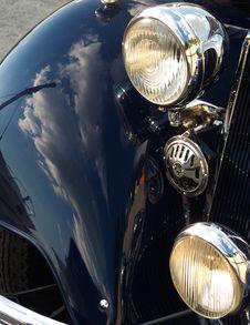 Free Classic Car Closeup Stock Images - 1389954