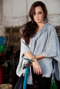 Free Fashion Shot In Auto Repair Shop. Stock Images - 13800074