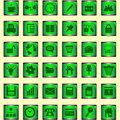 Free Set Of Icons Royalty Free Stock Images - 13800909