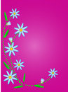 Free Vector Quilted Blue Cornflowers On Pink Copy Space Stock Photos - 13801203