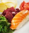 Free Salmon Sushi Stock Photography - 13801842