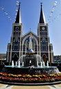Free Christian Church At Jantaburi In Thailand Royalty Free Stock Image - 13802356