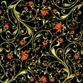 Free Seamless Flower Pattern Royalty Free Stock Photo - 13805035