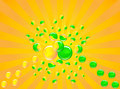 Free Halves Of The Whole. An Abstract Background Royalty Free Stock Photography - 13805317