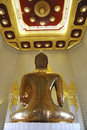 Free Large Golden Buddha In Temple Of Thailand Stock Image - 13806001