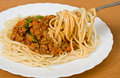 Free A Fork Lifting Spaghetti Stock Photo - 13808220