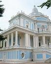 Free Sliding Hill Pavilion. Oranienbaum Royalty Free Stock Photography - 13809677