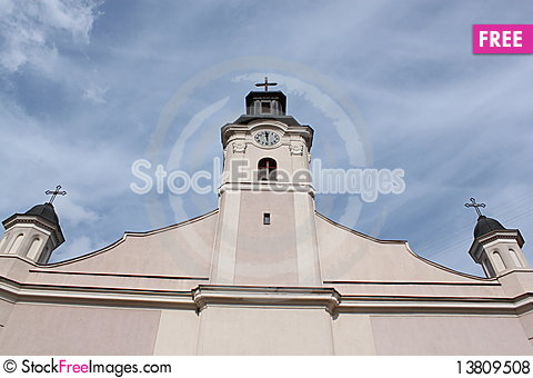 Free Ancient Church Architecture Royalty Free Stock Photos - 13809508