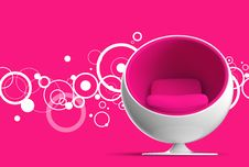 Free Ball Chair Royalty Free Stock Photos - 13800488