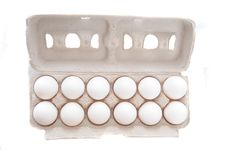 Free Dozen Of Eggs Stock Images - 13800694