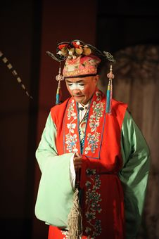 Free China Opera Clown Royalty Free Stock Images - 13800769