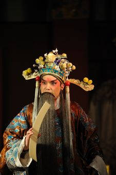 Free China Opera Man With Long Beard Stock Photo - 13800840