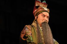 Free China Opera Man With Long Beard Stock Images - 13800864