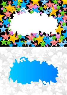 Free Abstract Backgrounds With Stars Royalty Free Stock Photos - 13801068