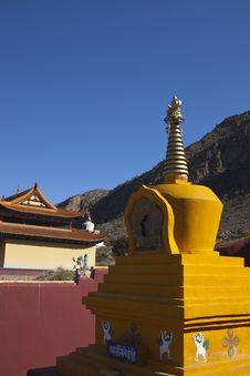 Free Yellow Pagoda Stock Photos - 13801373