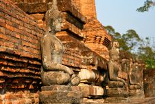 Free Buddha Statue In Sukhothai Historical Park Stock Photography - 13801612