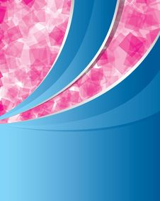 Free Abstract_pink_and_blue_background Royalty Free Stock Photography - 13801667