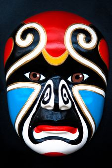 The Mask Of Sichuan Opera Royalty Free Stock Photo