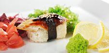Free Eel Sushi Royalty Free Stock Image - 13801856