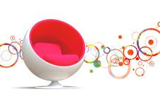 Free Ball Chair Stock Image - 13801981