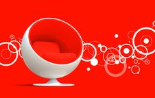 Free Ball Chair Royalty Free Stock Photo - 13802025