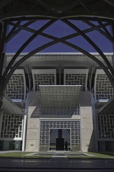 Free Internal Compound Of Putrajaya Mosque Stock Photos - 13802033