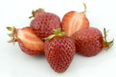 Free Fresh Juicy Strawberries Stock Images - 13802474
