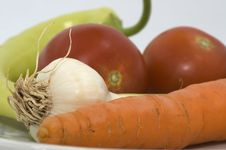 Free Fresh Vegetables Stock Image - 13802521